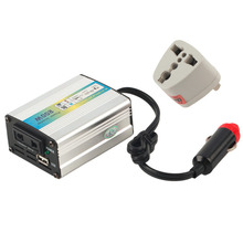 200W Portable Car Truck Boat USB DC 12V to AC 220V Super Power Inverter Converter Charger New Dropping Shipping