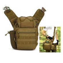 Saddle Shaped Big Messenger bags for camera 1000D  Nylon material  Molle System Multifunction  A3143