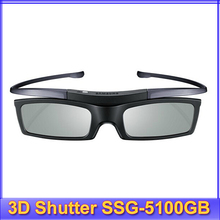 1pc 3D Shutter Active SSG-5100GB Bluetooth Glasses for Samsung sony KDL-55W950A sharp KONKA Toshiba TCL 3D TV & Epson TW5210