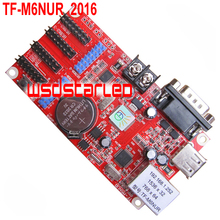 TF TF-M6NUR Network+USB+Serial LED controller card 1536*32 768*64 Single & Dual color LED screen drive plate