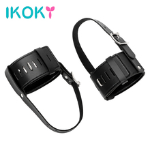 IKOKY High Heels Locking Belt Positioning Bandage SM Gear 1 Pair High-Heeled Shoes Restraints Kit Sex Toys for Couples(China)