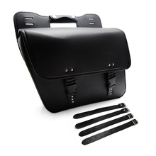 Motorcycle Saddle Bags Pu Leather Motorbike Side Tool Bag Luggage For Universal Motorcycle Bags after market