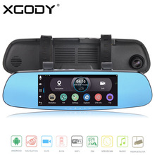 Buy Xgody 7.0 Inch Android Car Camera Daul Lens 1080p Dash Cam 512mb +16gb Car Dvrs 170 Degree Gps Navigation Wifi Av-In Dashcam for $99.99 in AliExpress store