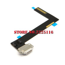(5 pcs/lot)  Free shipping Replacement Parts For iPad air 2 6 6th USB Charging Port  Charger Dock Connector Flex ribbon Cable