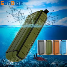 Sundigit Waterproof High Quality HiFi Sound Bluetooth Speakers Subwoofer Vibration Wireless Portable Playing Under Water Speaker