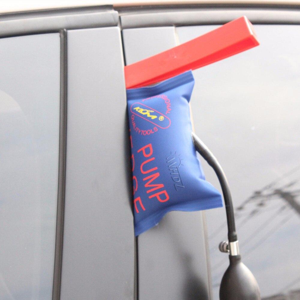 WHDZ Paintless Dent Repair - pump wedge Tools Red Repair wedge paintless dent removal kits (6)