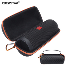 XBERSTAR Storage Case for JBL Flip 4 Speaker PU + EVA Semi Hard Travel Carry Storage Bag Case Pouch for jbl flip4(China)