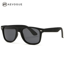 AEVOGUE Men's Sunglasses Unisex Style Sun Glasses 80s Retro Brand Designer High Quality With Colorful Temple UV400 DT0017(China)