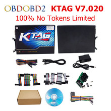 New Released No Tokens Limit KTAG V2.23 V7.020 Master Version K TAG 7.020 ECU Chip Tuning For Truck/Heavy Duty K-TAG V7.020