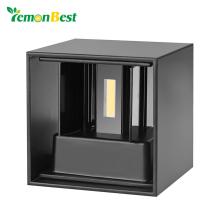 Lemonbest Waterproof Cube COB LED Wall Light Modern Home Lighting Decoration outdoor wall lamp Aluminum 7W AC 220V(China)