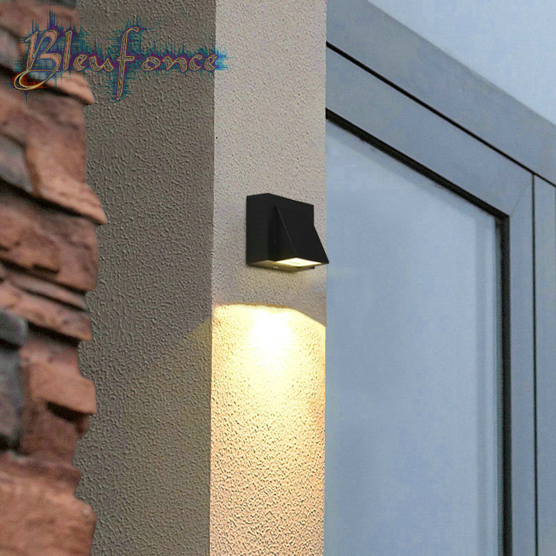 Villa Courtyard Garden lawn Lights Outdoor Waterproof Wall Lamp Warm White 3W LED Sconce Surface Mounted Aluminum Wall Light<br><br>Aliexpress