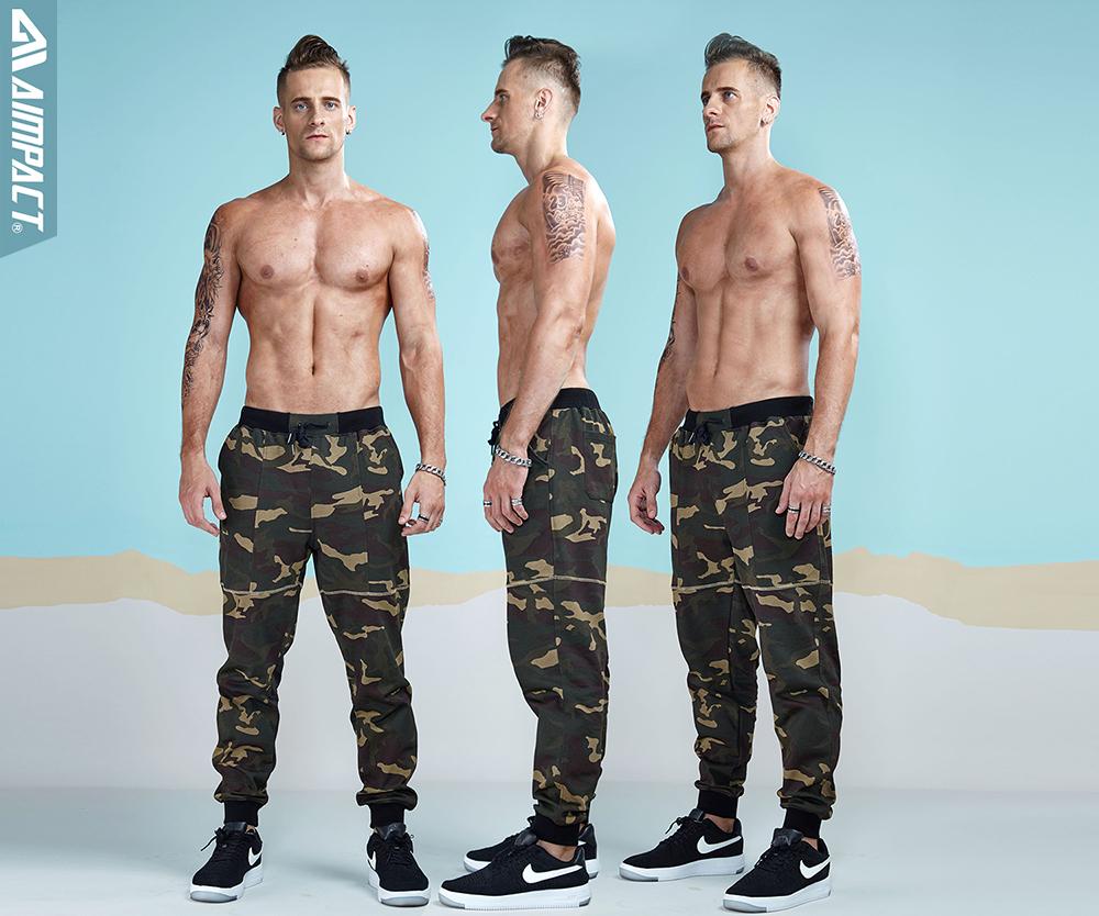 Aimpact 2017 New Camouflage Jogger Pants Men Cotton Sweatpants  (1)