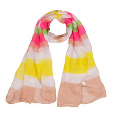 2017 Small Size Animal Colorful Butterfly Women Scarf Insect Famous Brand Lady Scarves With Fashion Design 180*38cm(China)