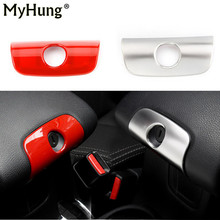 For Jeep Wrangler 2008-2016  Front Driver Armrest Magic Storage Box Key Lock Cover Frame Sticker Interior Accessories 1Pc