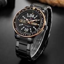 Buy Luxury Brand NAVIFORCE Watches Men Sport Full Steel Quartz Watch Man 3ATM Waterproof Clock Men's Military Luminous Wrist watches for $19.99 in AliExpress store