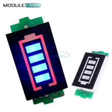 3S 3 Series Lithium Battery Capacity Indicator Module 12.6V Blue Display Electric Vehicle Battery Power Tester Li-po Li-ion