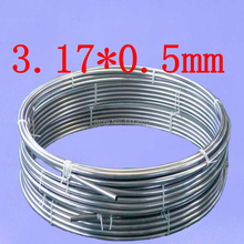 OD3.17mm,3.17*0.5mm,Stainless steel gas line pipe,stainless steel tube,stainless steel coil pipe