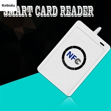 Buy Kebidun NFC ACR122U RFID smart card Reader & Writer/USB Copier Duplicator writable clone software USB S50 13.56mhz ISO 14443 for $32.24 in AliExpress store