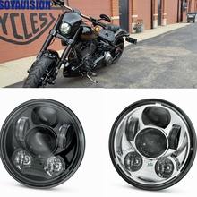 "Harley Motorcycle 5 3/4 "" Harley Headlight 5.75 "" Harley Daymaker LED Headlamp For Harley Softail Dyna Sportster Models(China)"