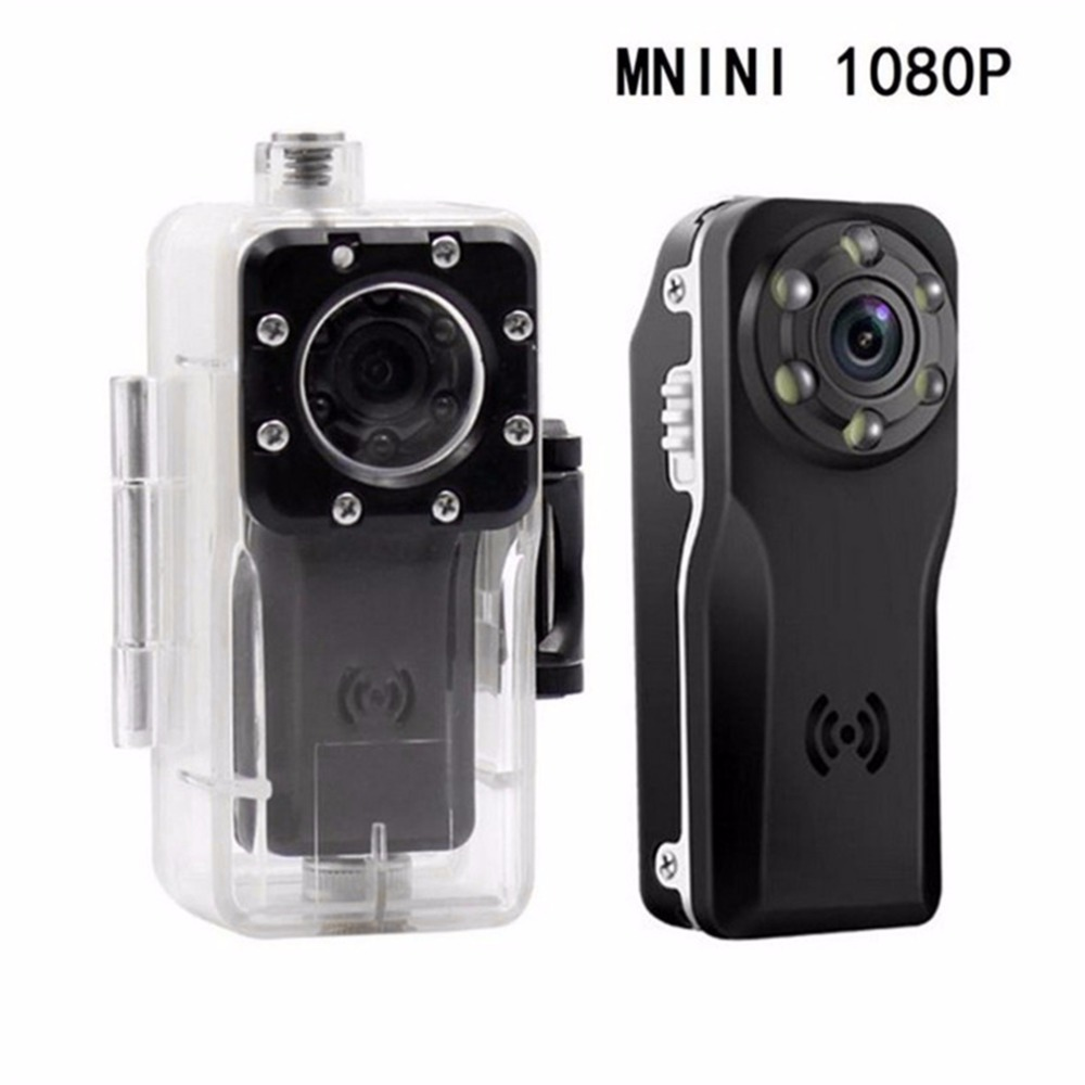 HD 1080P Night Vision Camera  Mini Camcorder Sport Outdoor DV Voice Video Recorder Action Camera 120 Degree Wide Angle Camera DV<br>