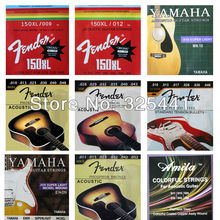 10 Sets Acoustic Guitar Strings , Electric Guitar Strings , Classical Guitar Strings ,Electric Bass Strings(China)