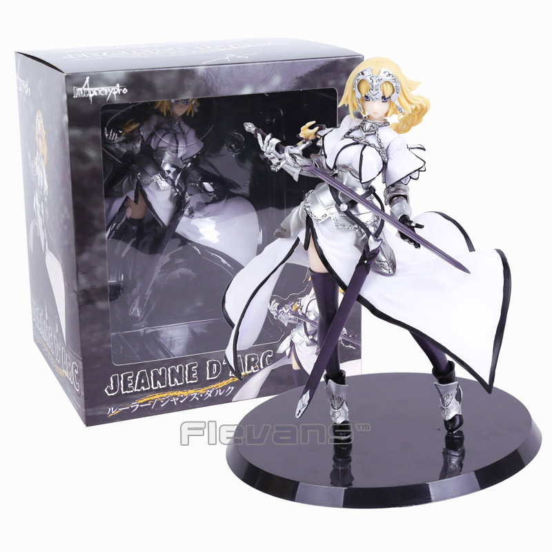 Fate/Apocrypha Jeanne dArc Saber White &amp; Black Ruler Ver. 1/8 Scale Painted Figure Collectible Model Toy<br>