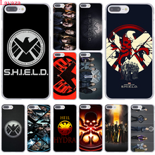 Agents of S.H.I.E.L.D s h i e l d season shield Marvel Hard Phone Case for Apple iPhone 8 7 Plus 6 6S Plus 5 5S SE 5C 4S X or 10