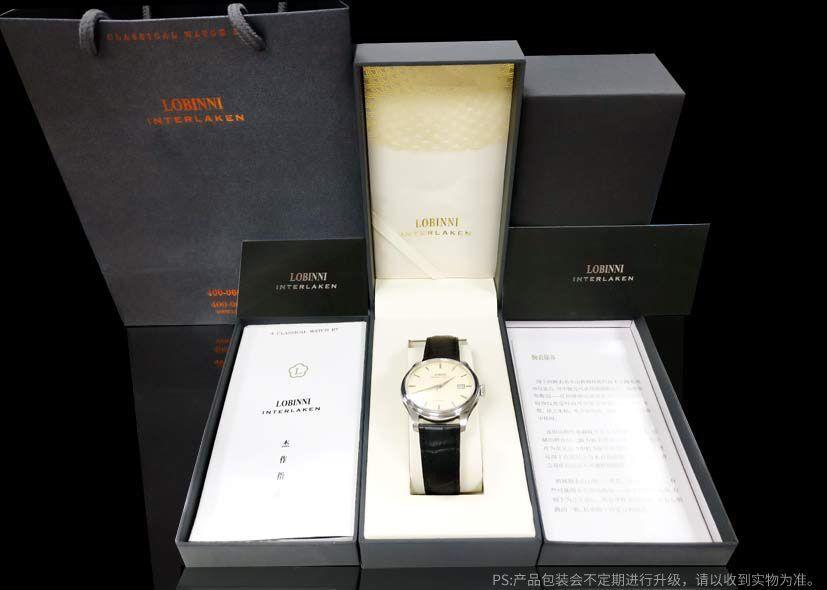 LOBINNI New Men Watches Top Luxury Brand Japan Import NH35A SII O Auto Mechanical MOVT Men's Clock Sapphire reloj hombre L1018-8 20