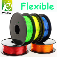 9 Colors Flexible 3d printer filament 1.75mm pla impressora 3d plastic filament 0.8kg/roll TPU filamento pla flexible pen-3d