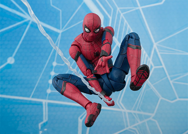 Superheroes Spider-Man Anime Spiderman Figure Spider Man PVC Action Figure Kids Toys Collectible Model Toys Decoration<br>