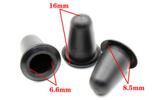 10PCS A-pillar trim outer sleeve fixed base plastic fasteners suitable for Range Rover