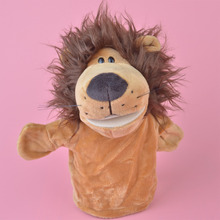 NICI Forest Animals Lion hand puppet plush toy, Stuffed Baby / Kids Doll Toy Gift Free Shipping