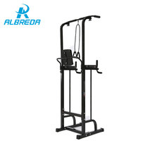 ALBREDA Gym training adjustable multi-function pull up bar within home fitness resistance bands chinup bar Bodybuilding machine(China)