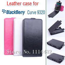 Fashion Book Flip PU Leather Wallet Case Cover Smart phone cases Stand Pouch For BlackBerry Curve 9220 / 9320 case(China)