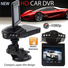 "2.5"" TFT LCD screen Car DVR H198 Video Recorders 270 degree screen rotated Car Black Box with 6 LED IR Night Vision Camcorder"