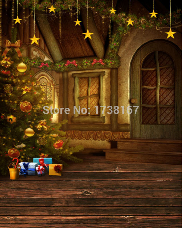 2015 New Newborn Photography Background Christmas Vinyl Photografia Backdrops 250cm *400cm Hot Sell Photo Studio Props Baby L824<br>