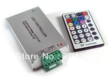 RF 28-Key LED RGB controller(Aluminum);DC12-24V input,max 4A*3channel output(China)