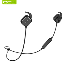 QCY magnet switch earphones sport wireless bluetooth earbuds aptx headset with Mic for iphone android samsung xiaomi QY12(China)