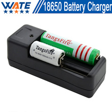 Free shipping New Universal Smart Charger Battery Charger 18650 16340 CR123A(China)