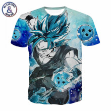 2017 3D T Shirt Cartoon Anime Naruto Dragon Ball Print T-shirt Homme Men Summer Clothing Harajuku Short Sleeve Camisetas Hombre