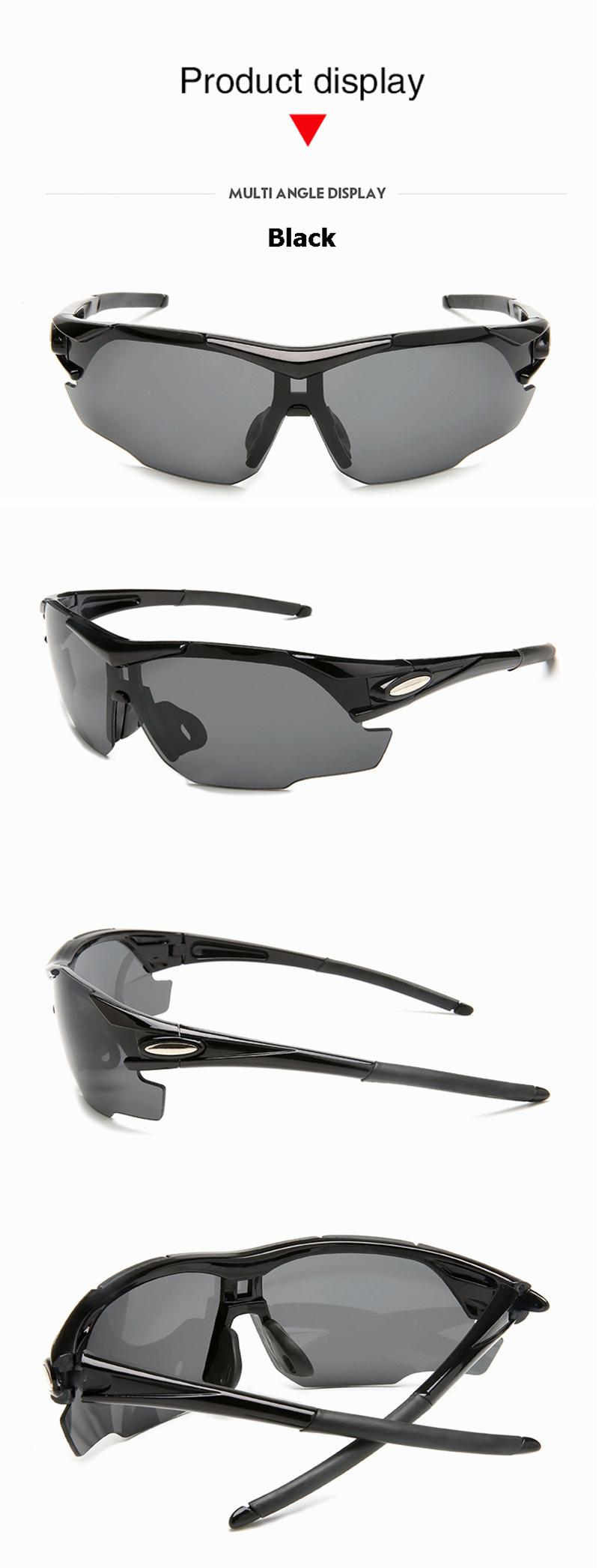 Anti-UV Cycling Men Women Glasses Bike Bicycle Glasses Outdoor Sports MTB Sunglasses Goggles Eyewear Myopia Frame AC0171 (8)