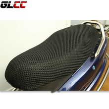 Motorcycle scooter electric bicycle sunscreen seat cover 3D sun proof Prevent scooter sun pad Heat insulation Cushion protect(China)