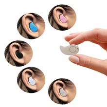 Small Earphone Bluetooth Earphone S530 Mini Bluetooth Headset Headphone Hands Free Microphone Stereo Music For Xiaomi iPhone 7