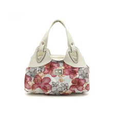 2016 New Women Bags Women Messenger Bags New Popular Flower Pattern PU Leather Casual Handbag