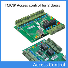 door RFID access control system RFID TCP/IP Two Door Access Control Board Green Board TCP/IP+Free English Software T01