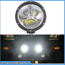 one pc 7 inch 45W Round Led Work Light Spot Beam 12V 4x4 Off road Boat Truck SUV ATV Headlight Driving Lights 24V Fog Lamp