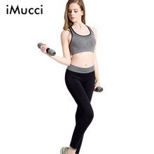 iMucci Top Quality Leggings Women Quick Dry High Waist Long Pants Comfortable Fitness Pants