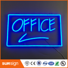 outdoor waterproof hanging letter led neon sign bar open led mini flex neon lights signs lighting(China)