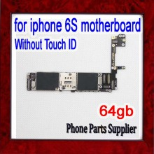 64gb Complete Logic Boards with IOS System,Original unlocked for iphone 6s Motherboard without Touch ID(China)
