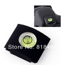 Spirit Hot Shoe level DSLR universal   Camera Bubble  + Hot Shoe Protector Cover for Nikon d5100 53100 d7000 Canon 500d 600d 60d